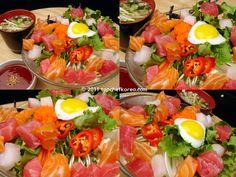 Sashimi Rice Salad (Hwe Dup Bap 회덮밥)