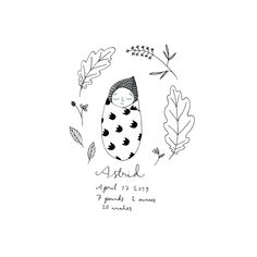 Baby Journal, Baby Album, Ink Illustrations, Lettering, Baby Cards, Cute Art, Embroidery Patterns, Doodles, Drawings