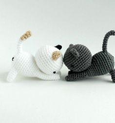 Nyújtózkodó amigurumi kiscica - ingyenes macska horgolásminta / Mindy -  kreatív ötletek és dekorációk minden napra