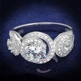 A Perfect 1.5CT Round Cut Solitaire Russian Lab Diamond Bridal Set Wedding Band Ring