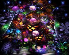 fractal fairies | fractal worlds 5 - Fairies Dreams - Sarettas Art