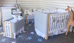 Chegou a linha BO! Móveis que se adaptam ao crescimento do bebê. Disponível nas cores: Branco, azul, verde menta e cinza. Moderninho e cheio de graça, o Bo já é um sucesso! 💛💛