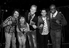 Pentatonix people!! love them! I have to go to one of there concerts some day