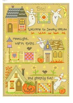 Spooky Hollow Quilts  Quilting and Halloween - *awesome*