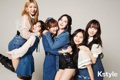 in KStyle Interview 190315 Kpop Girl Groups, Korean Girl Groups, Kpop Girls, Gfriend Yuju, Gfriend Sowon, Gfriend Album, Day6, Cloud Dancer, Fandom