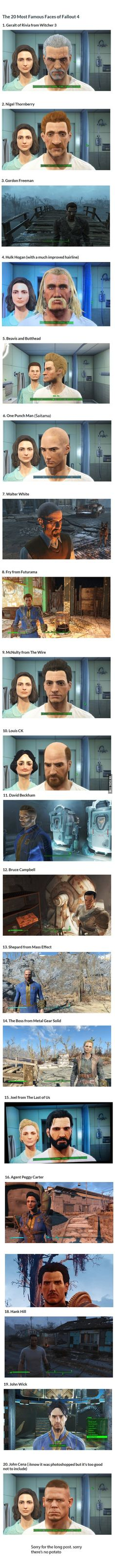 The 20 Most Famous Faces of Fallout 4 - www.viralpx.com