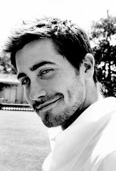 Jake...yes, that smirk and dimple makes my heart melt...or all of a sudden feel shy <3