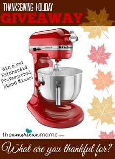 Enter to win this great mixer.