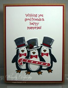 HYCCT1527 - Tap Dancing Penguins by Wdoherty - Cards and Paper Crafts at Splitcoaststampers