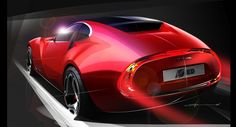 Cars world The concept Cisitalia 202 E