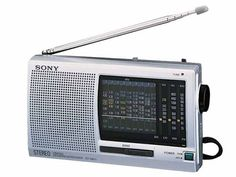 Posted in: Electronics SONY 12 Bands World Band Receiver Radio Radios, Sony, Pocket Radio, Digital Radio, Short Waves, Transistor Radio, Recording Equipment, Antique Radio, Stereo Headphones
