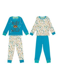 Make a fun addition to his winter nightwear collection with these wild woodland print pyjamas, which are crafted purely in natural cotton. Boys blue wild woodland pyjamas Pack of 2 Pure cotton Scalloped neckline Bow detail Cuffed hems Keep away from fire Boy Blue, Pyjamas, Nightwear, Baby Kids, Pajama Pants, Year 8, Commercial Design, Natural, Boys