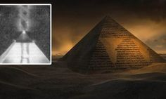 """A """"Flying"""" Solar Ship, buried at the foot of the Great Pyramid of Giza 