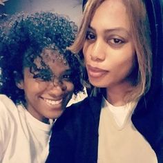 Orange is the New Black - Vicky Jeudy and Laverne Cox