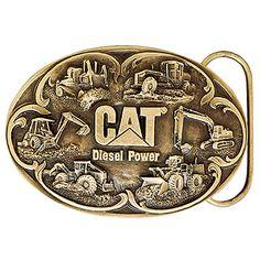 Cat Diesel Power Belt Buckle | shopcaterpillar.com