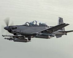 The Embraer EMB 314 Super Tucano Attack aircraft and Counter insurgency