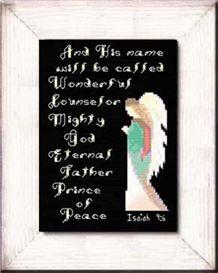 His Name - Isaiah 9:6 - Chart
