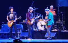 Stones at their best: Ronnie, Mick Taylor, Keith Richards and Charlie Watts.