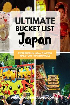 Japan Bucket List: 35 Unforgettable Experiences in Japan travel destinations - Japan Travel Guide, Asia Travel, Travel Guides, Tokyo Travel, Japan Destinations, Family Destinations, Stuff To Do, Things To Do, How To Memorize Things