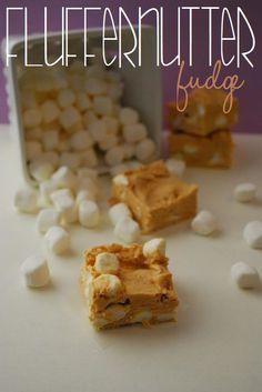Fluffernutter Fudge