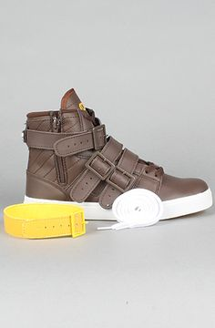 The Straight Jacket Sneaker in Brown Leather $34.99