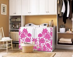 The Wonderful of Vintage Laundry Room Decor Ideas — D'Home Decoration Laundry Craft Rooms, Small Laundry Rooms, Laundry Room Design, Mobile Home Living, Home And Living, Vintage Laundry, Remodeling Mobile Homes, Room Decor, Dryers