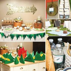 Peter Pan Party Decorations | Peter pan | Event planning and party decor ideas