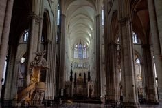 Amiens Cathedral Pulpit and Choir