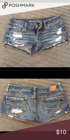 American eagle jean shorts Like new American Eagle Outfitters Shorts Jean Shorts