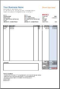 Free Printable Invoice Template Word Luxury 32 Free Invoice Templates Editable with Excel and Word Microsoft Word Invoice Template, Invoice Format In Excel, Invoice Layout, Invoice Example, Printable Invoice, Receipt Template, Printable Calendar Template, Resume Format, Sample Resume