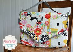 Working Girl Laptop Bag from charmedLiebling