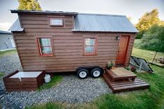 Our Tiny Tack House - rustic - Exterior - Seattle - The Tiny Tack House