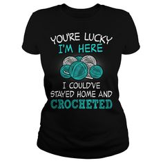 Funny crochet shirt :)