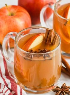 This Crockpot Spiced Apple Cider is perfect for fall parties. Easy to make and delicious to drink. Make a kid friendly batch and keep some brandy on the side for the grown ups! Spiked Apple Cider, Spiced Cider, Spiced Apples, Caramel Apples, Crockpot Recipes, Cooking Recipes, Drink Recipes, Fun Recipes, Recipe Ideas