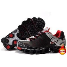www.asneakers4u.com Mens Nike Shox TL3 Black Silver Red