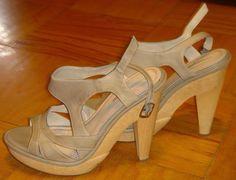 Luxury Rebel Women's Nadia Ankle Strap Sandal Wedge Olive Sage Shoe Size 6.5 New #LuxuryRebel #Strappy