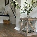 Rustic Farmhouse Coffee Table - Sawdust 2 Stitches