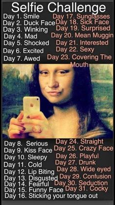 Check out this hilarious Selfie Challenge from Butterflykissme.com: 31 days of Selfies demonstrating the fabulous skin care and mineral cosmetics from Younique.