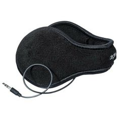 Degrees by 180s Ear Warmers with Headphones - Black
