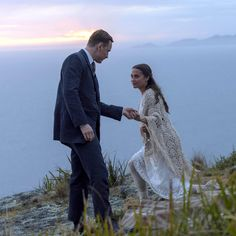 "Michael Fassbender and Alicia Vikander in ""The Light Between Oceans"" upcoming film on 2016, september 2"