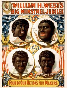 """William H West's Minstrel Show""(1899)"