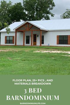 Barn Homes Floor Plans, Pole Barn House Plans, Barndominium Floor Plans, Pole Barn Homes, New House Plans, Small House Plans, House Floor Plans, Barndominium Texas, Barn Plans