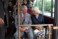 Prince Charles and Camilla Parker Bowles - Prince Charles and His Wife Visit Northern Ireland