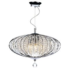 Luxor 9 light pendant polished chrome clear tbd89 pinterest adriatic 5 light pendant polished chrome aloadofball Images