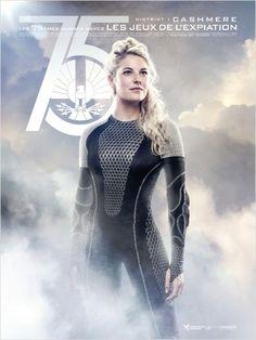 Hunger Games - L'embrasement : Affiche Stephanie Leigh Schlund