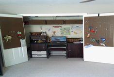 New Diy Small Closet Office - http://closetdesignideas.website/small-closet/diy-small-closet-office
