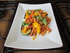 JHS / Sedanini alla cafona''( pomodoro rucola parmigiano zucchina e pangrattato abbrustolito )''Gino D'Aquino