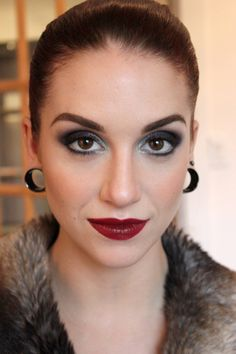 Holiday Look #makeup #glamour