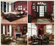 View The 2017 Color Of Year Pompeian Red And See Behr Paints Paint Colorsroom