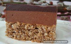 Sladké Mozartovy kostky   NejRecept.cz Sweet Recipes, Cake Recipes, Kolaci I Torte, Croatian Recipes, Cake Bars, Russian Recipes, Cheesecakes, Vanilla Cake, Nutella